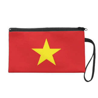 Viet Nam Flag Wristlet Purse