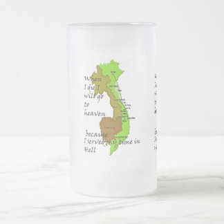 VIET NAM FROSTED GLASS MUG