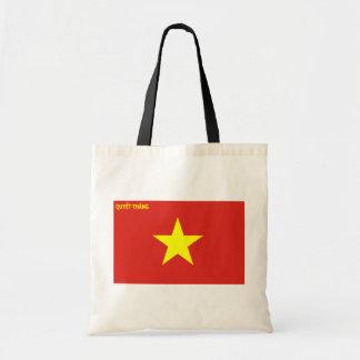 Viet Nam Peoples Army, Vietnam flag Canvas Bag