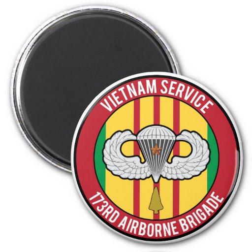 Vietnam 173rd Airborne Refrigerator Magnets