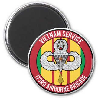 Vietnam 173rd Airborne Master Refrigerator Magnet
