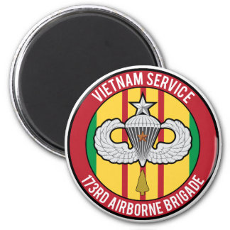 Vietnam 173rd Airborne Senior Refrigerator Magnet