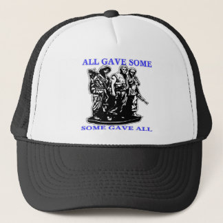 Vietnam All Gave Some & Some Gave All Trucker Hat