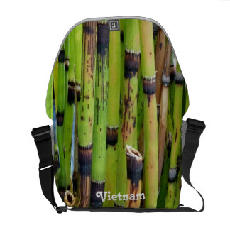Vietnam Bamboo Messenger Bag