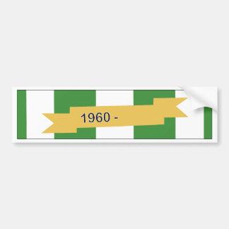 Vietnam Campaign Ribbon Bumper Sticker