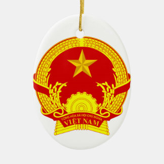 Vietnam Ceramic Oval Decoration