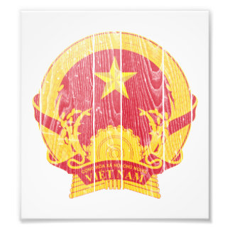 Vietnam Coat Of Arms Art Photo