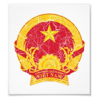 Vietnam Coat Of Arms Photographic Print