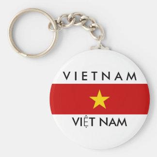vietnam country flag name text symbol key ring