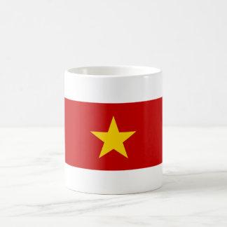 vietnam country long flag nation symbol name coffee mug