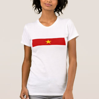 vietnam country long flag nation symbol name T-Shirt