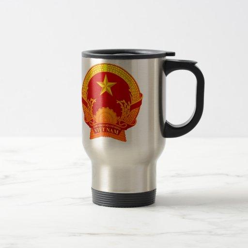 Vietnam crest2 coffee mugs