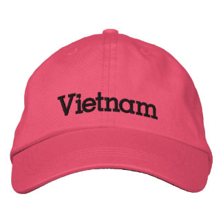 Vietnam Custom Embroidered Baseball Cap