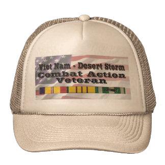 Vietnam - Desert Storm Combat Action Vet Cap