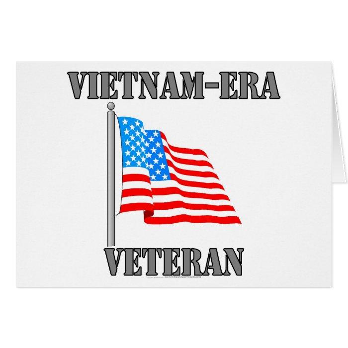 Vietnam-era Veteran Greeting Card