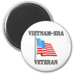 Vietnam-era Veteran Refrigerator Magnet