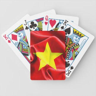 Vietnam Flag Bicycle Poker Cards