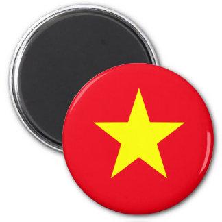 Vietnam Flag Refrigerator Magnet