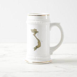 Vietnam Flag ~ Map Mug