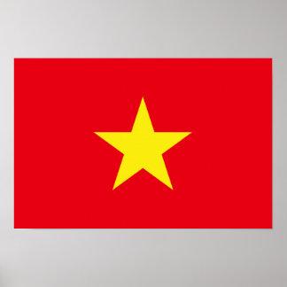 Vietnam Flag Poster