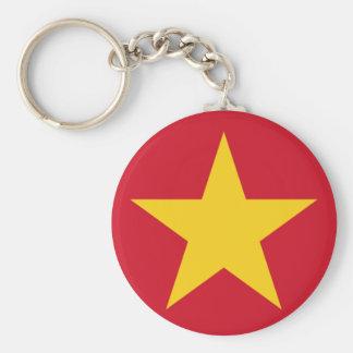 Vietnam Flag Shirt Key Ring