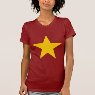 Vietnam Flag Star T-Shirt