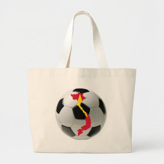 Vietnam football soccer jumbo tote bag