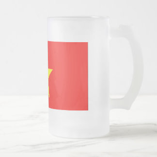 Vietnam Frosted Glass Mug