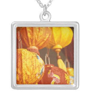 Vietnam, Hoi An Large lanterns, souvenirs Silver Plated Necklace