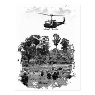 Vietnam Huey Landing Postcard