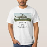 "Vietnam Huey Medevac Chopper ""Dust Off"" Tshirt"