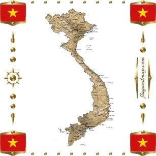 Vietnamese Flag Gifts & Gift Ideas | Zazzle UK