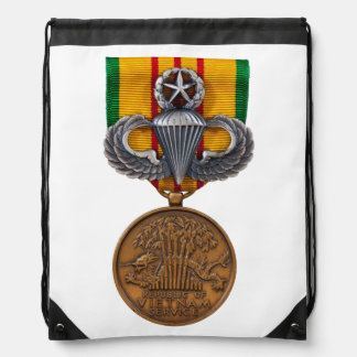 Vietnam Master Airborne Drawstring Bag