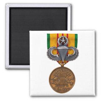 Vietnam Master Airborne Square Magnet