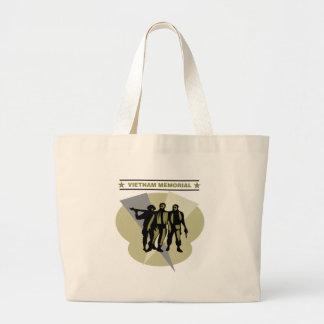 Vietnam Memorial Canvas Bags