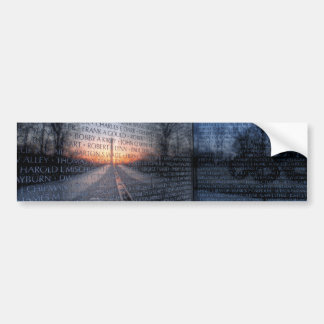 Vietnam Memorial Dawn Bumper Sticker