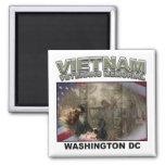 Vietnam Memorial Fridge Magnet