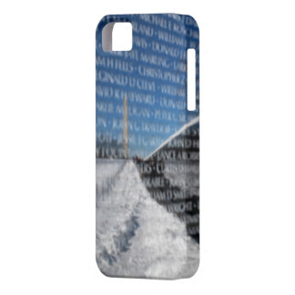 Vietnam Memorial Wall During Winter Barely There iPhone 5 Case