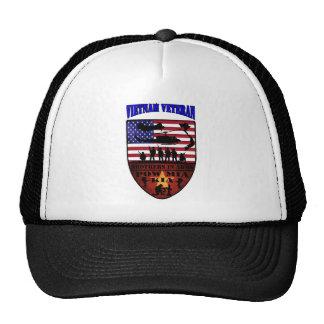Vietnam of veteran mesh hats