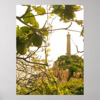 Vietnam Oldest Highest Lighthouse Photo Poster