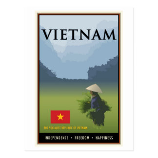 Vietnam Postcard