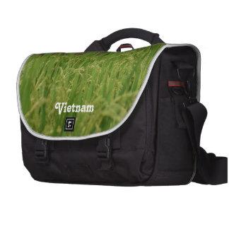 Vietnam Rice Paddy Laptop Shoulder Bag