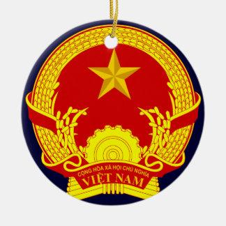Vietnam Round Ceramic Decoration