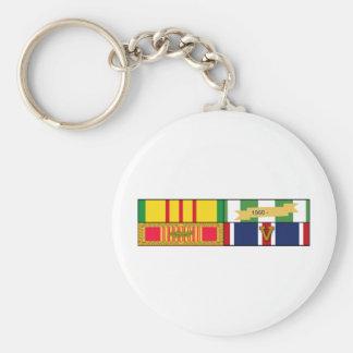 Vietnam Service-Vietnam Campaign-Vietnam Gallantry Keychains