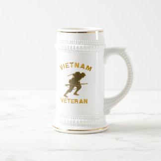 VIETNAM SOLDIER IN GOLD Mugs
