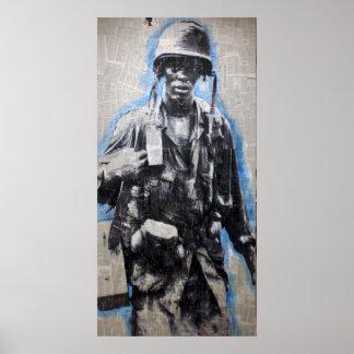 Vietnam Soldier Print