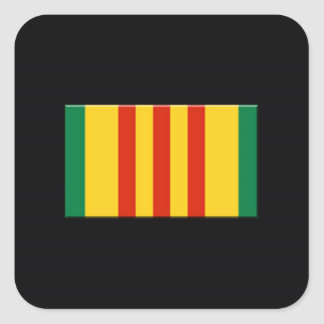 Vietnam Square Sticker