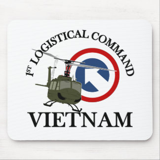 Vietnam Vet - 1st Log Cmd Mouse Mat