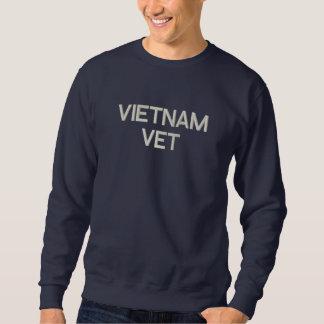 Vietnam Vet Military Embroidered Sweatshirt