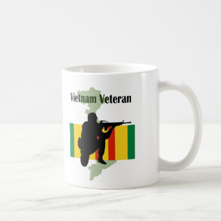 Vietnam Veteran Coffee Cup Basic White Mug